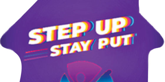 Step Up, Stay Put: Walk 10,000 steps every day to raise money for charity