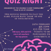 Online quiz in support of Headway's brain injury support services.