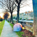 Images OF Tents On The Dodder  Pose Questions About Homelessness