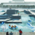 Proposed Docklands Water  Rafting Facility in Choppy Waters
