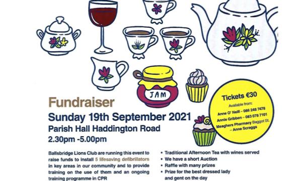 Ballsbridge Lions Fundraiser